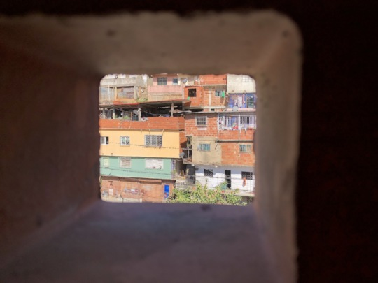 Slum Barrio 24 de Marzo - school location