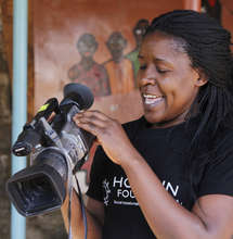 Aida Achieng, Kibera Film School Coordinator