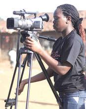 Benta shooting her film