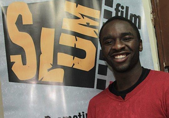 David Weda at Slum Film Festival, Nairobi, Kenya