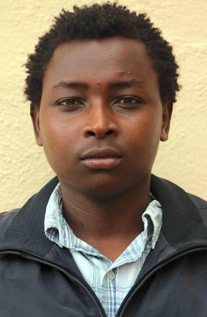 Denis, trainee at Hot Sun Foundation
