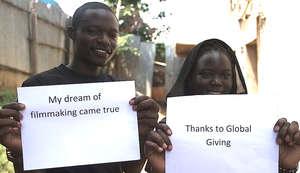 Kibera Film School Trainees