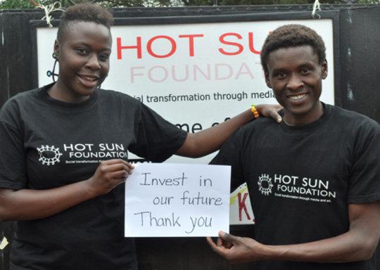 Audrey, Erastus: Invest in the Future