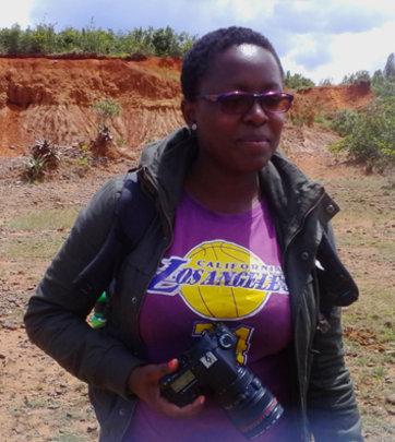 Grace, Hot Sun Foundation media intern