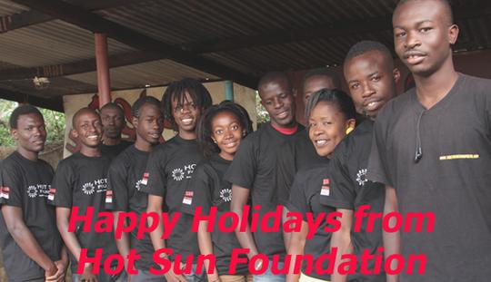 Happy Holidays from Hot Sun Foundation