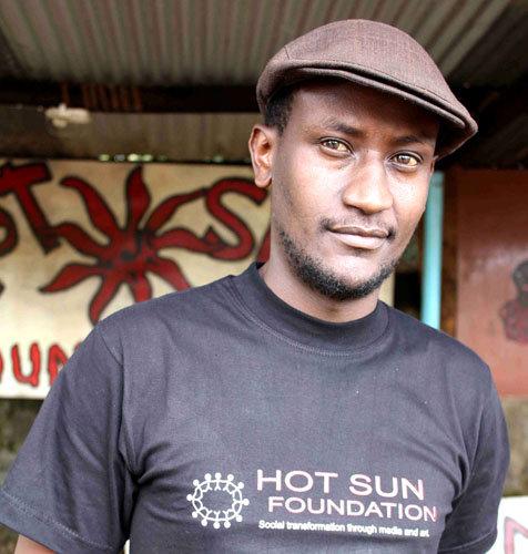 Joseph Matu, Kibera Film School trainee