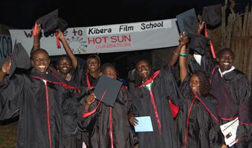 Kibera Film School Graduation 27 March 2010