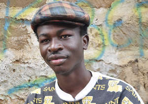 Robert, 21,  Kibera Film School Trainee