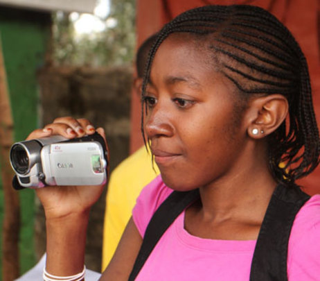 Shirley, Kibera Film School Trainee