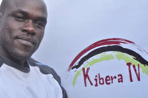 Polycap with Kibera TV logo