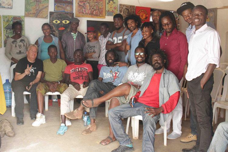 Training at Maasai Mbili Art Center