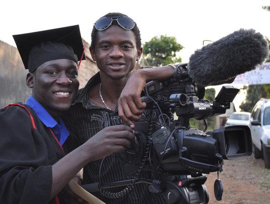 Kibera Film School grads train other youth