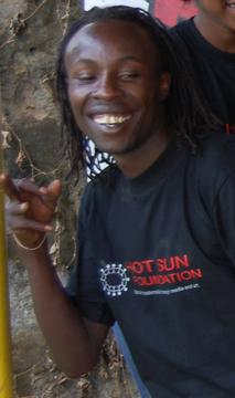 John Ngaruiya known as GG Spice, Kibera Film School trainee