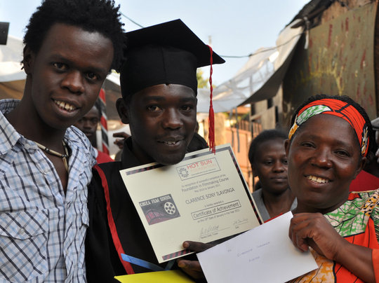 Celebration of graduation Foundation in Filmmaking