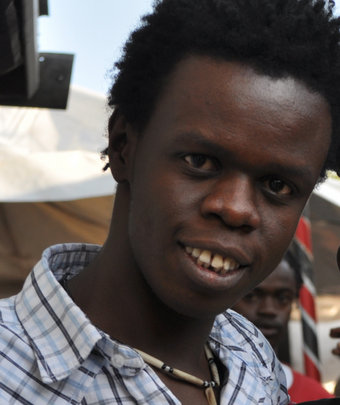 Josphat Keya, program director, Kibera Film School