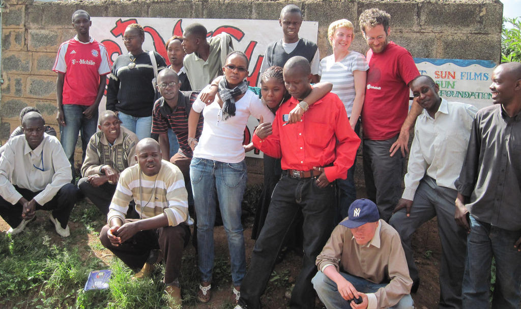 MAP Kibera project meets with KIBERA FILM SCHOOL
