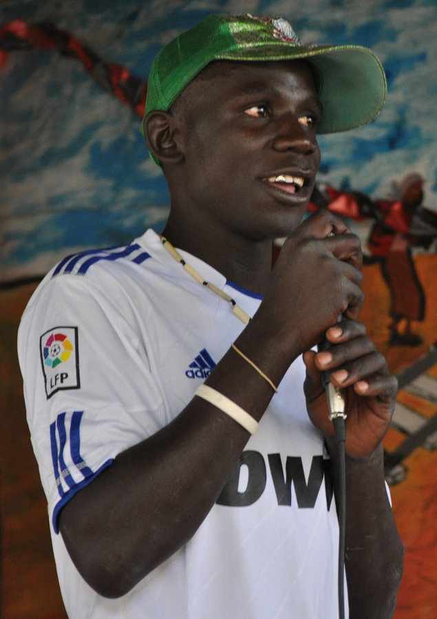 Steve, a Kibera TV volunteer