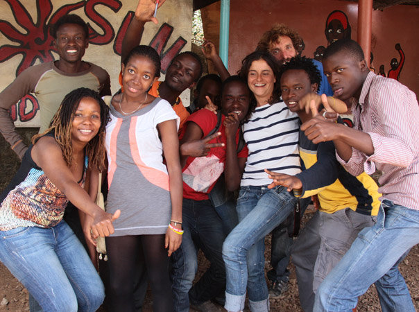 Mireia Group Photo Kibera Film School trainees