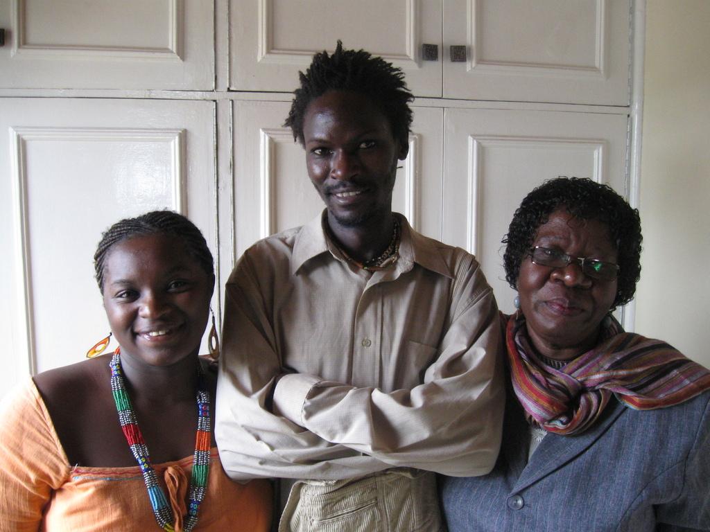 Mercy, Evans, and Zipporah