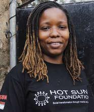 Noreen Kombe, Kibera film School trainee