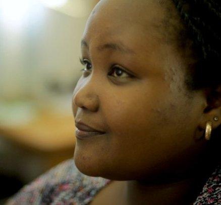 Sandra, Hot Sun Foundation trainee