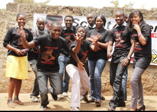 Young participants in Script Power Seminar