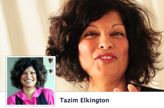 Tazim Elkington, our ardent supporter