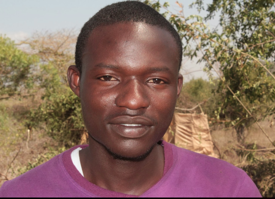 Matthew, Kibera Film School trainee from Uganda