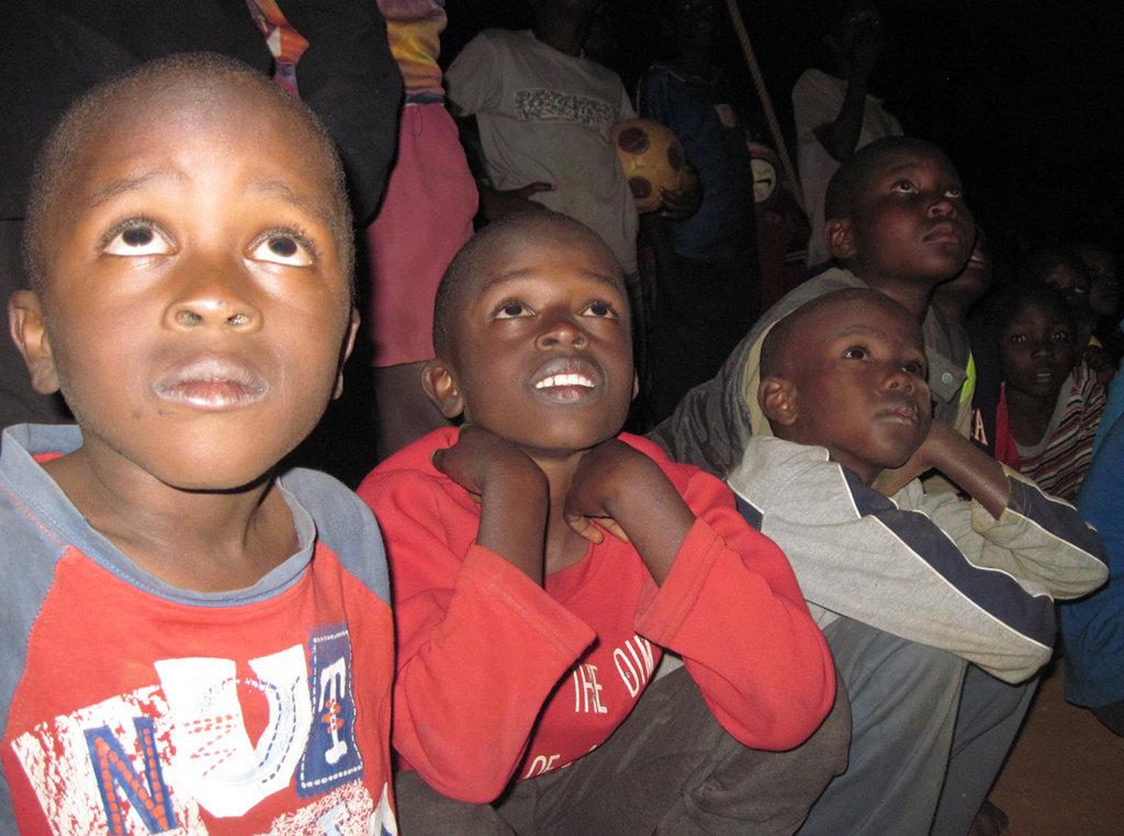 Children watching TOGETHERNESS SUPREME