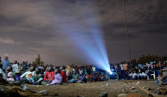 Watching TOGETHERNESS SUPREME in Kibera