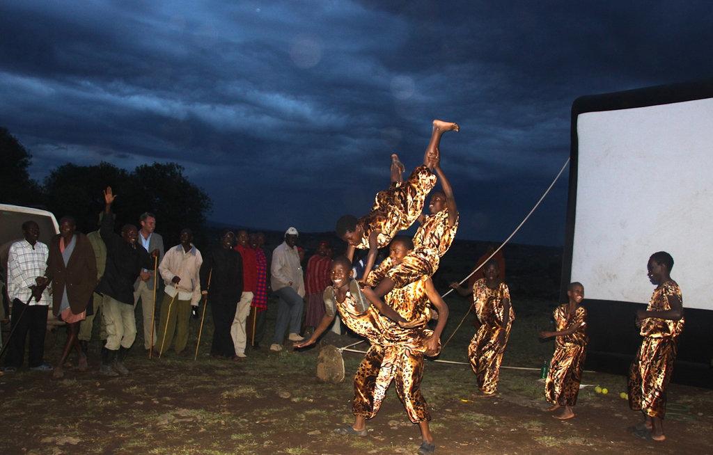 Kibera Hamlets Acrobats with Togetherness Supreme