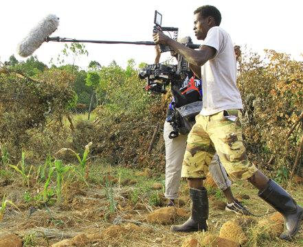 Erasto, camera for Advanced Film Project