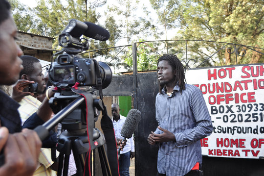 Emmanuel Jal, international hip hop peace activist
