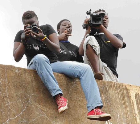 Kibera Film School Trainees