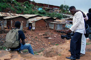 Kibera Film School Shoot PSA
