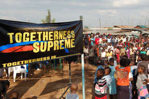 TOGETHERNESS SUPREME Open Air Screening in Kibera