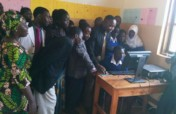 COMPUTER FOR DEAF STUDENTS IN TANZANIA.