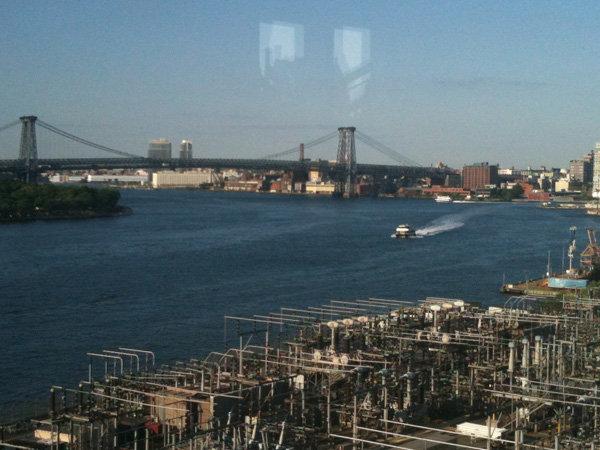 Dumbo bridge view