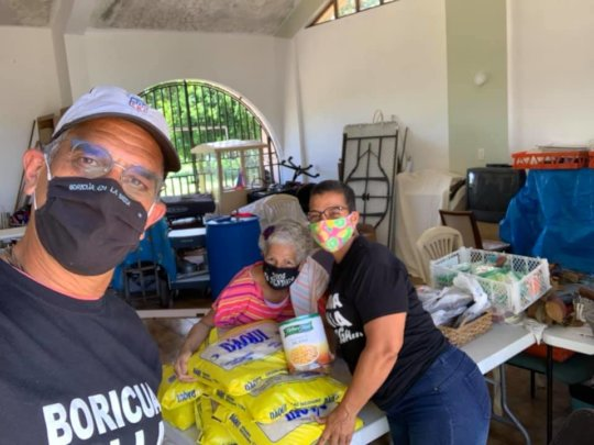 Groceries distributed to 35,000 families