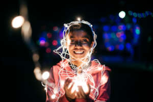 Some fun with lights...