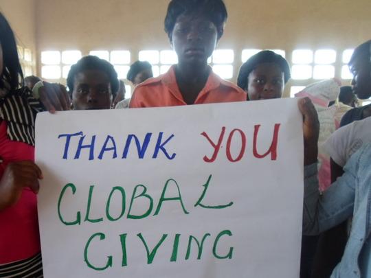 Teen Mums Saying Thank you