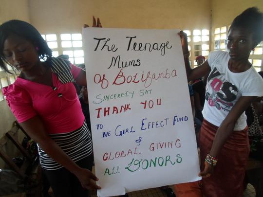 Teen Mums Saying Thank you 4