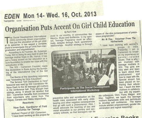 The Eden News Paper