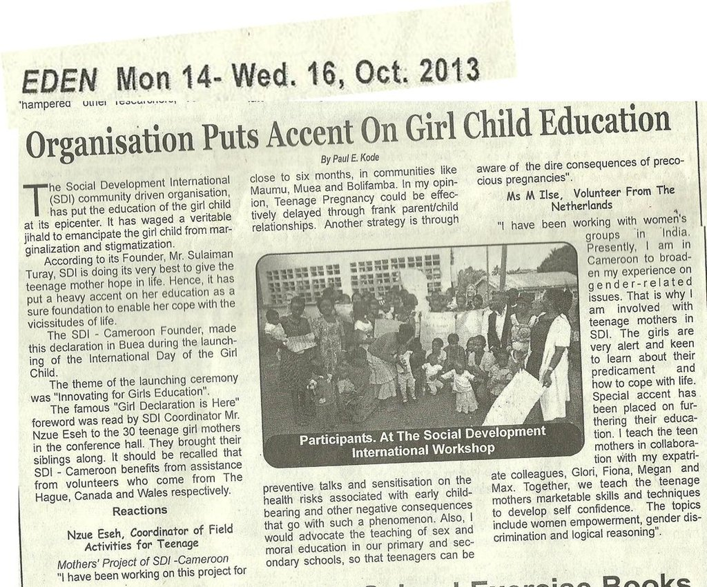 The Eden News Paper
