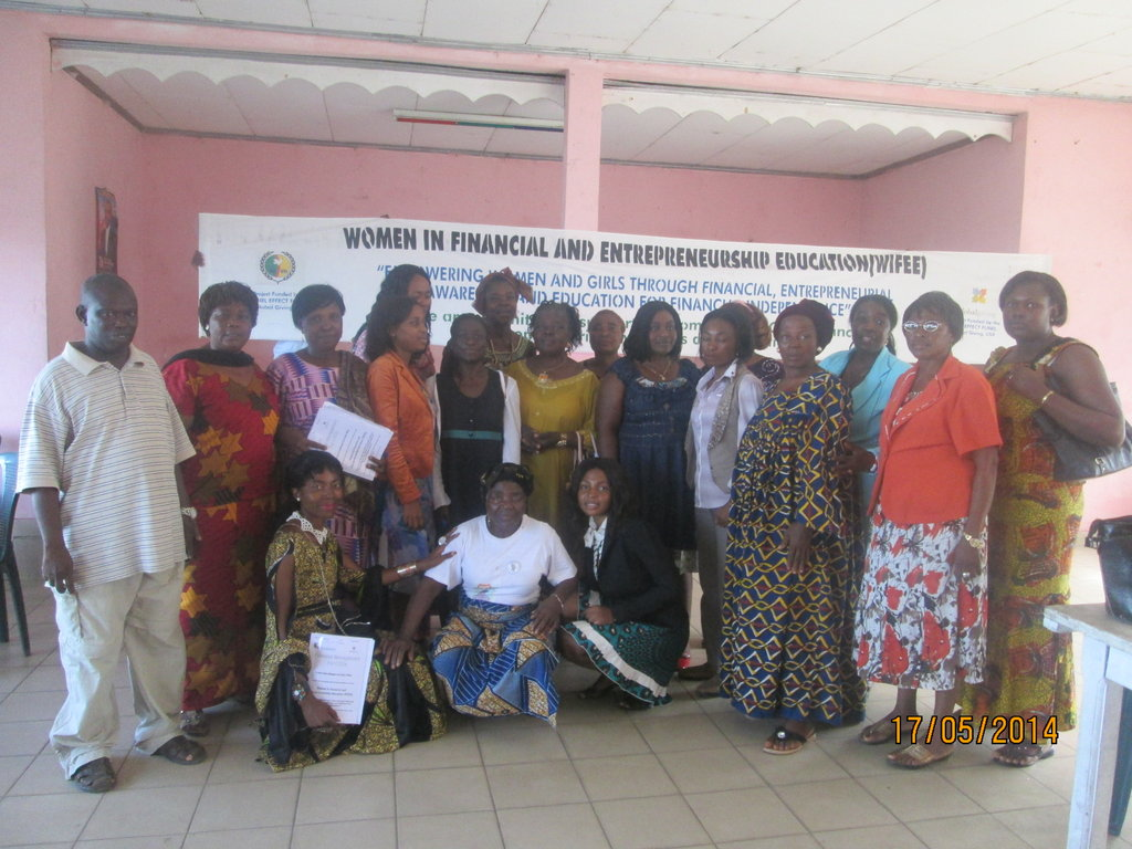 Buea Women After two days of Financial Training