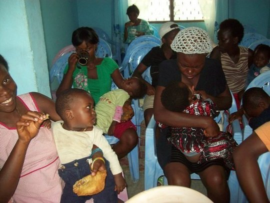 Teen mothers Health care sessions