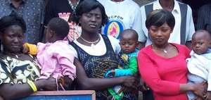 Mamu Teen Mothers Posed for Cameroon