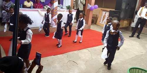 CAMES Ghana K-2 graduation