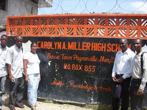 Teachers outside of the school