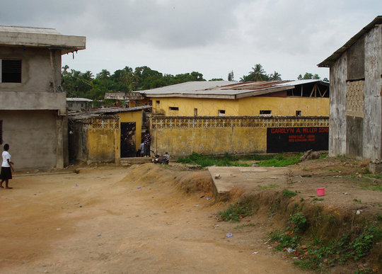 THE CAROLYN MILLER SCHOOL IN LIBERIA